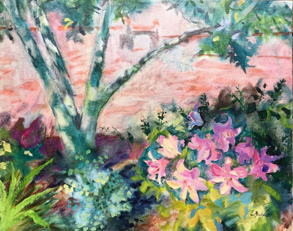 Lisa Blackshear oil painting