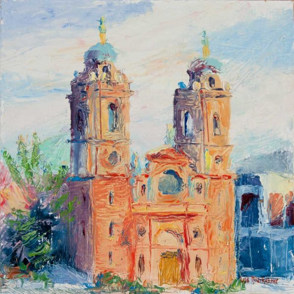 oil painting, asheville, basilica, North Carolina, Lisa Blackshear, art