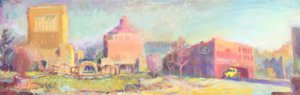 oil paintings, Lisa Blackshear, Asheville, Pack Square
