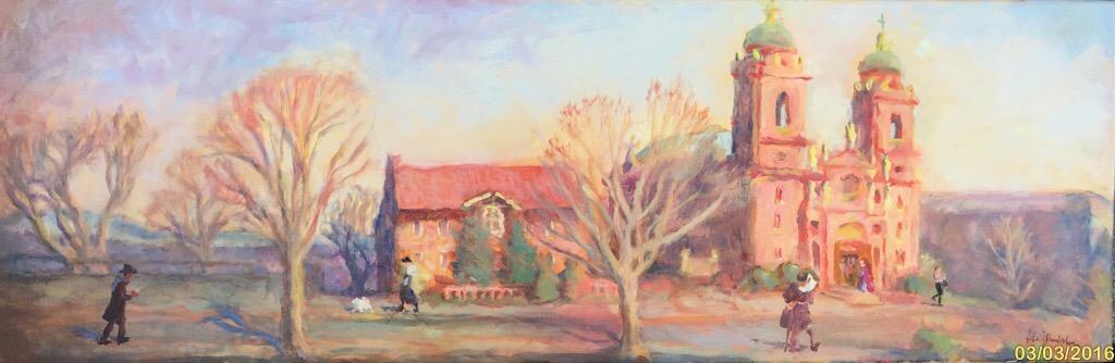 oil painting by Lisa Blackshear
