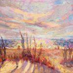 East Beach Dunes Sunrise
