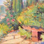 """Garden Path Asheville Arboretum 11x14"""""""