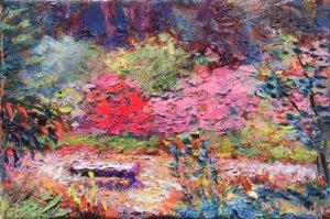 Bench Biltmore Azalea Garden
